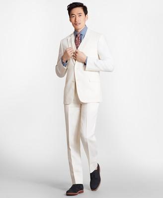 Brooks Brothers Regent Fit Three-Piece Irish Linen Suit