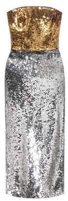 Dolce & Gabbana Strapless sequinned dress