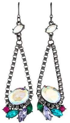 Erickson Beamon Rocks Crystal Drop Earrings