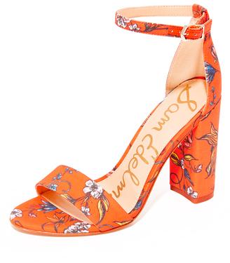 Sam Edelman Yaro Printed Sandals $120 thestylecure.com