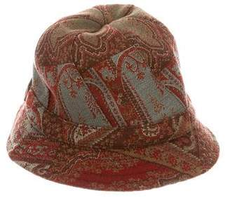 Etro Woven Bucket Hat