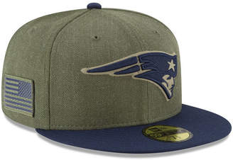 New Era New England Patriots Salute To Service 59FIFTY Fitted Cap