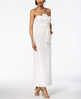 Adrianna Papell Strapless Ruched Gown, Regular & Petite