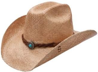 be450fcf1a3a3 Stetson Flatrock - Shapeable Straw Cowboy Hat