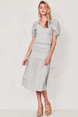 LoveShackFancy Iva Skirt