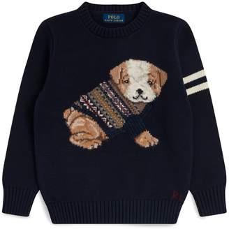Ralph Lauren Bulldog Knitted Sweater