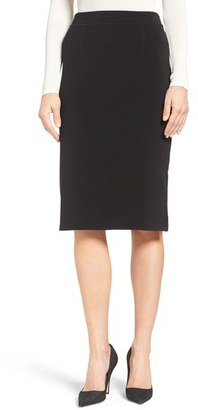 Women's Halogen Side Slit Pencil Skirt $59 thestylecure.com