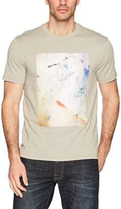 Calvin Klein Men's Splatter Graphic Short Sleeve T-Shirt