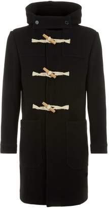 Ami Paris Hooded Duffle Coat