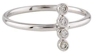 Ring 14K Diamond Vertical Bar