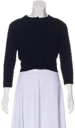 Celine Textured Cashmere Cardigan