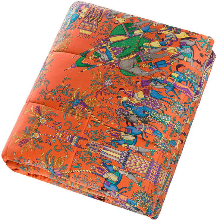 Trix Quilted Bedspread - Multi/Orange