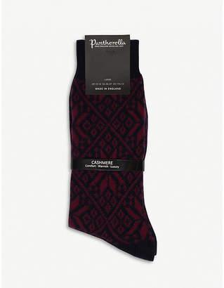 Pantherella Stokesay cashmere socks