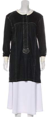 Isabel Marant Long Sleeve Button-Up Dress