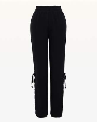 Juicy Couture Juicy Logo Side Lace Up Jogger Pant