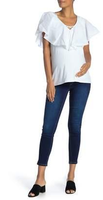 1822 Denim Butter Ankle Skinny Jeans (Maternity)