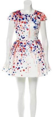 Elisabetta Franchi Printed Mini Dress w/ Tags