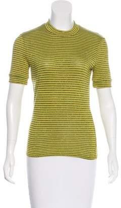 Reformation Metallic Striped Sweater