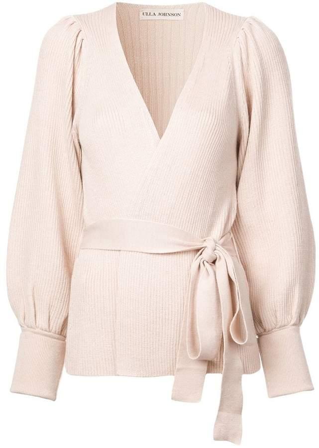 Lyra wrap sweater