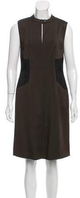 Belstaff Contrast-Trimmed Shift Dress