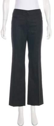 Akris Punto Mid-Rise Wool Pants