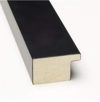 Amanti Art Grey Week Calendar Vertical 14x26 Framed Glass Dry Erase Board