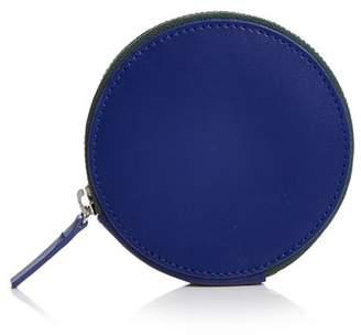 Baggu Round Leather Wallet
