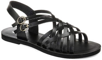 Journee Collection Womens Jc Colby Ankle Strap Flat Sandals