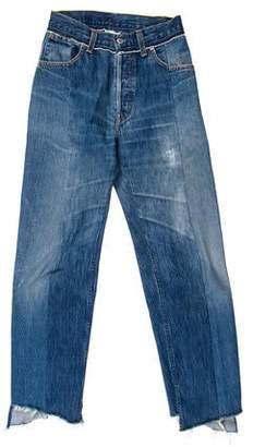 Vetements 2017 Mid-Rise Jeans
