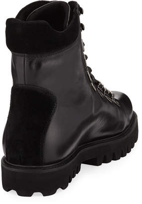 Karl Lagerfeld Paris Men's Sawtooth Hiker Boots