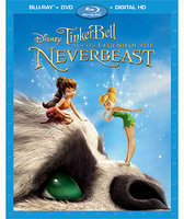 Disney Tinker Bell and the Legend of the NeverBeast Blu-ray Combo Pack