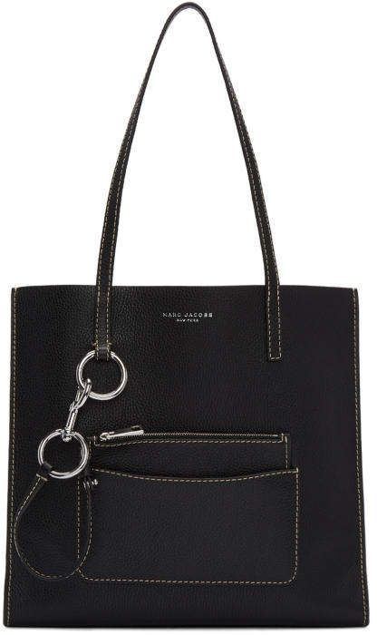 Marc Jacobs Black The Bold Grind Shopper Tote