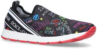 Dolce & Gabbana Paul Maglina Slip On Sneakers