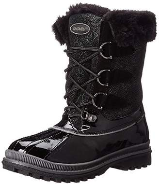 Khombu Women's Free-K Cold Weather Boot $99 thestylecure.com