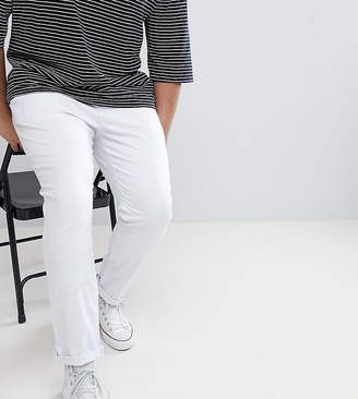 Asos DESIGN Plus Skinny Chinos In White