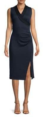 T Tahari Welma Knit Wrap Dress