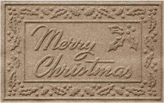 Bungalow Flooring Merry Christmas Polyester Indoor/Outdoor Doormat