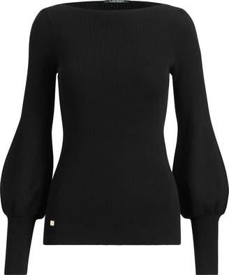 Ralph Lauren Puff-Sleeve Sweater