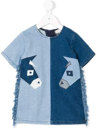 Stella McCartney Maude Denim Donkeys dress