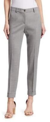 Fabiana Filippi Cuffed Stretch Wool Pants