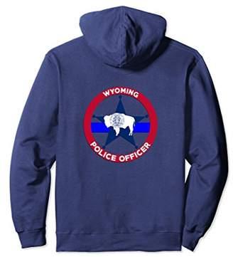 Wyoming Police Officer's Department Hoodie Policemen