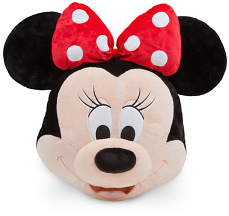 Disney Minnie Mouse Plush Pillow - Red - 16''