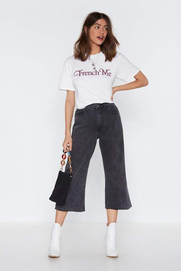 Crop It Denim Jeans