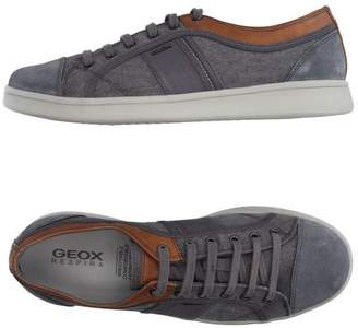 417eb32828 Geox Grey Suede Shoes For Men - ShopStyle UK