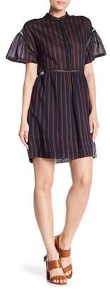 Paul & Joe Sister Louisa Short Sleeve Stripe Dress