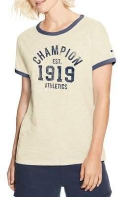 Champion Ringer Logo Tee