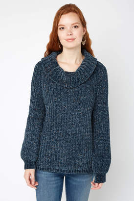 525 America Fleck Chenille Turtleneck Sweater