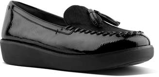 Next Womens FitFlop Black Moccasin Petrina Loafer