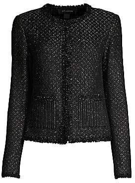 St. John Women's Brocade Shimmer Knit Jacket