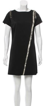 Zadig & Voltaire Textured Mini Dress $200 thestylecure.com
